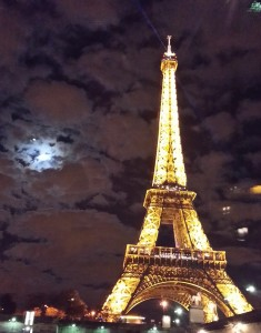 Eiffel and the Full Moon