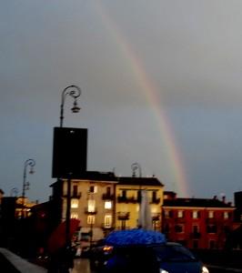Rainbow over Verona